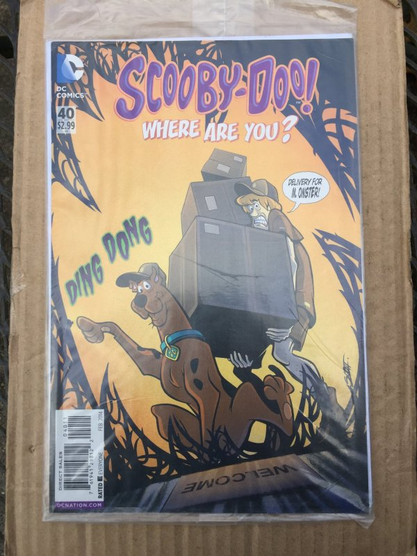 Scooby-Doo, Where Are You? #40 (2014)