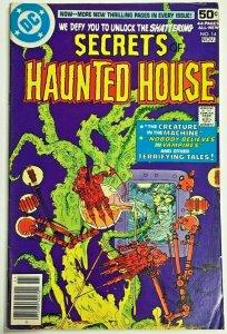 SECRETS OF HAUNTED HOUSE#14 FN 1978 DC BRONZE AGE COMICS