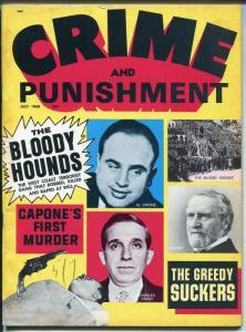 Crime and Punishment 7/1969-Al Capone-Charles Ponzi-Tiffany-Cannibal-FN