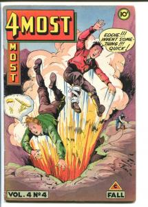 4MOST COMICS V.4#4-EXPLOSION COVER-VOLTO FROM MARS VG+