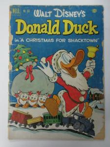 DONALD DUCK #FC367 (Dell Four Color,1/1952) PR (POOR)  Walt Disney, Carl Barks