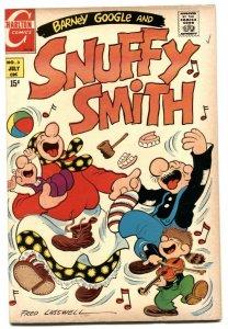 Barney Google and Snuffy Smith #3 1970- Charlton FN-