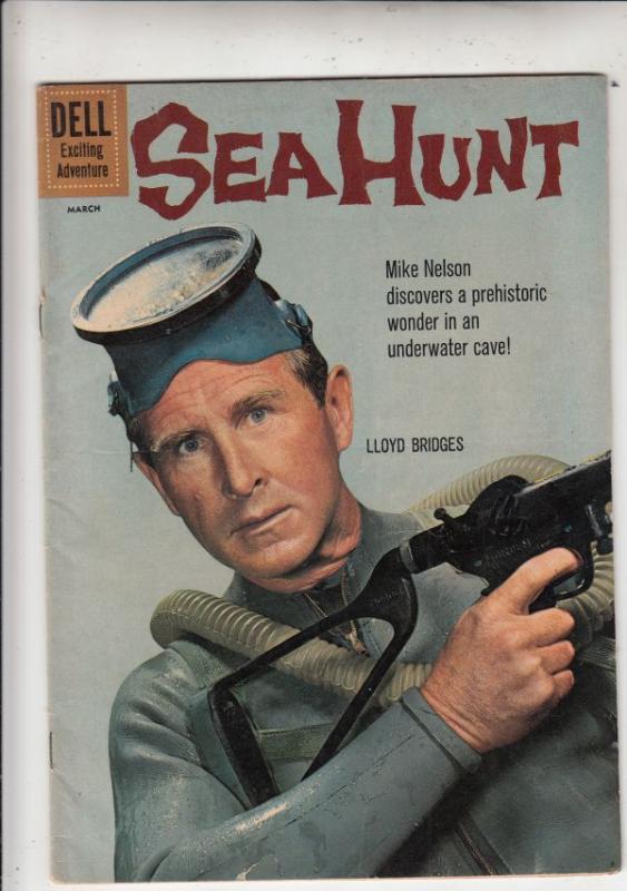 Sea Hunt #8 (Mar-61) VF High-Grade Mike Nelson