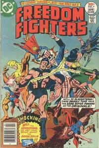 Freedom Fighters (1976 series) #7, VF (Stock photo)