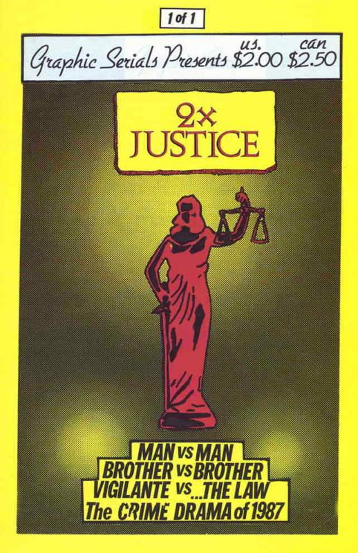 Two x Justice #1 FN; Graphic Serials | save on shipping - details inside