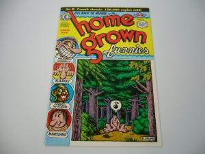 Home Grown Funnies #1 VF/NM (15th) kitchen sink ROBERT CRUMB underground snoid