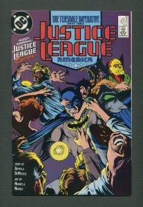 Justice League America #32  / 9.2 NM-  /  November 1989