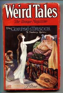 Weird Tales 7/1929-Seabury Quinn-Robert E Howard-Pulp Magazine