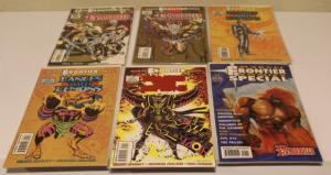Small Lot of 6 Marvel Frontier Comics, Bloodseed, Dances w/ Demons ~VF (SIC570)