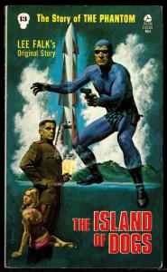 Lee Falk The Phantom: Island of Dogs - Avon Paperback 1st Edition 1975