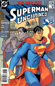 Superman Unchained #2G VF/NM; DC | save on shipping - details inside