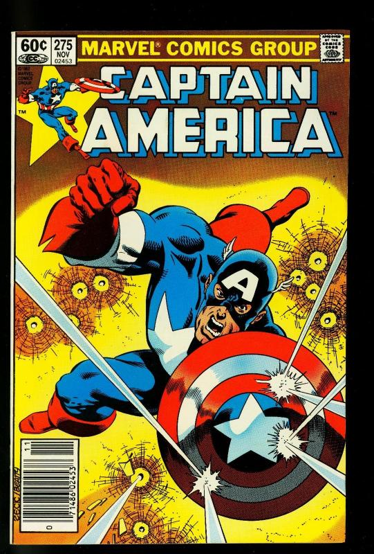Captain America #275 1982- 1st Baron Zemo II- Hot Book Movie Coming- VF/NM
