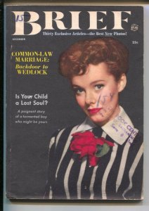 Brief #1 12/1951-Atlas-1st issue-Eartha Kitt-Is US Open To Plague?-exploitati...