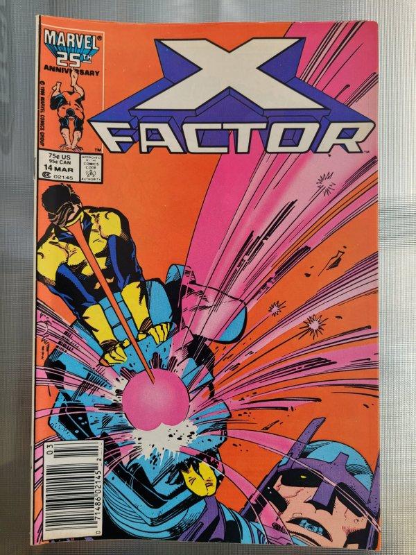 X-Factor #14 (1987) Newsstand Edition