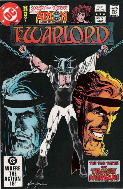 Warlord (DC) #57 FN; DC | save on shipping - details inside
