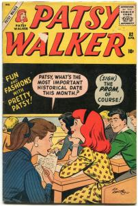 Patsy Walker #82 1959- Marvel Silver Age- Hartley cover- Paper Dolls G