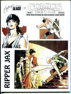 Comics Revue #115 1995-Romero-Steve Canyon-Spider-man-Modesty Blaise-VF