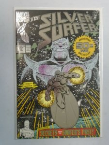 Silver Surfer #50 3rd printing 4.0 VG water damage (1991 2nd Series)