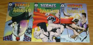 Hermes vs the Eyeball Kid #1-3 VF/NM complete series - eddie campbell dark horse