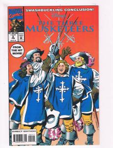 The Three Musketeers # 2 VF/NM Marvel Comic Books From The Movie Great Issue SW9