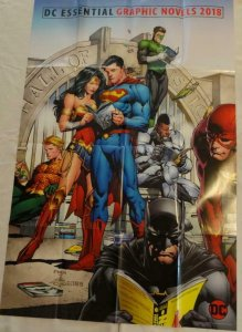 DC ESSENTIAL Promo Poster, 24 x 36, 2018, DC, Unused more in our store 117