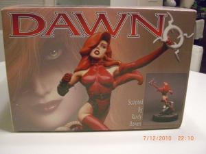 DAWN STATUE, Joseph Linsner, Randy Bowen, Limited, MIB, more JML in store