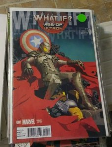 What If.? # 1 2018  Marvel age of ultron hank pym wasp