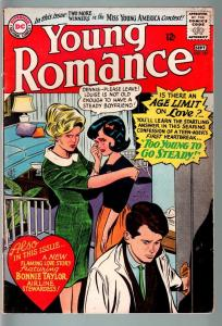 YOUNG ROMANCE #136 1965-DC ROMANCE-JAILBAIT CVR!-FN FN