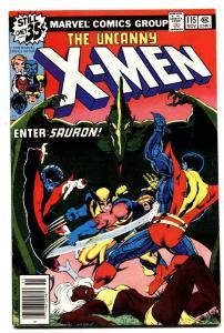 X-MEN #115 1978 VF SAURON-CHRIS CLAREMONT-comic book