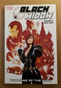 BLACK WIDOW THE NAME OF THE ROSE HARD COVER GRAPHIC NOVEL NM