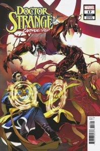 Doctor Strange #17 Lupacchino Carnage-Ized Variant (Marvel, 2019) NM
