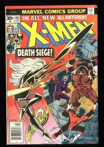 X-Men #103 FN+ 6.5 Juggernaut!