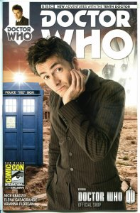 DOCTOR WHO #1, NM, 10th, Tardis, SDCC, 2014, Titan, Sketch cv, more DW in store