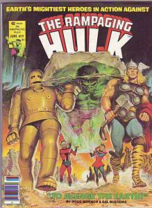 Hulk, the Rampaging Magazine #9 (Jun-78) NM+ Super-High-Grade Hulk