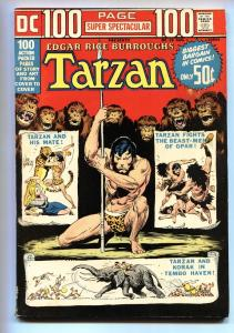 DC 100 PAGE SUPER SPECTACULAR #19-comic book Tarzan-FN/VF-DC