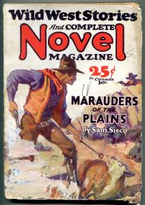 Wild West Stories & Complete Novel Pulp December 1929- Marauders of Plains