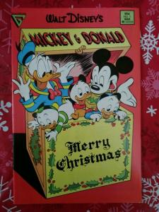 Walt Disney's Mickey & Donald  #1 Merry Christmas Gladstone 1988
