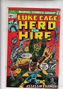 Luke Cage Hero for Hire #6 (Feb-73) NM- High-Grade Luke Cage