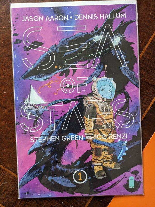 Sea of Stars: Lost In The Wild Heavens #1 (2020)
