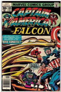 CAPTAIN AMERICA 209 FN May 1977