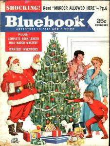 BLUE BOOK PULP-DECEMBER-1953-G-MURPHY COVER-SCHAEFER-LUMBARD-ROAN G