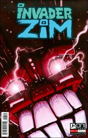 Invader Zim #3A VF/NM; Oni | save on shipping - details inside
