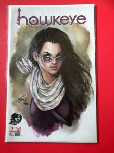 ALL-NEW HAWKEYE V1 001 MARVEL /  COLOR PHANTOM VARIANT / HIGH QUALITY