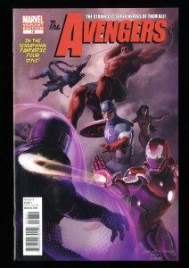 Avengers (2010) #18 VF+ 8.5 1:50 Meinerding Variant Kang X-Men #1 Homage