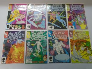 Silver Surfer lot 42 different from #1-49 avg 7.0 FN VF (1987-91 2nd Series)