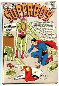 SUPERBOY COMICS #99 DC COMICS comic book 1962-KRYPTO KRYPTONITE VG