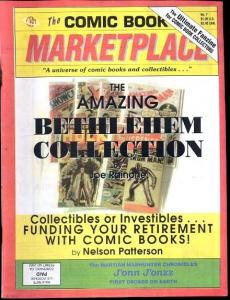Comic Book Marketplace Fanzine #7- Bethlehem Collection VF/NM