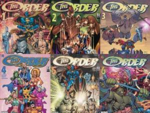ORDER (2002) 1-6  Strange,Hulk,Namor,Surfer