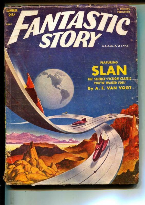 Fantastic Story-Pulps-Summer/1952-Mari Wolf-A. E. Van Vogt