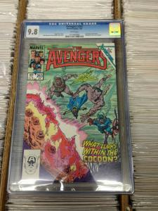 Avengers 263 CGC 9.8 Universal  (Jan. 1986)